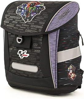 Ergo Schulranzen/Ergonomic Backpack FIDLOCK 18MGP-902-BL-F Mochila Escolar 42 Centimeters (Grey, Black)