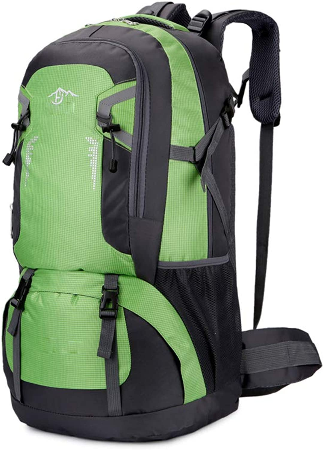 Waterproof Travel Hiking Backpack, Outdoor Camping Travel Bag Trekking Climbing Bag Rucksack 40L,Green