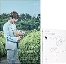 BANGTAN BOYS LOVE YOURSELF Her BTS 5th [V Ver.] Mini Album CD + Photo Book + Mini Book +Photo Card + Sticker Pack