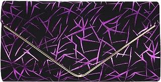 Wiwsi Fashion Ladies Evening HandBags Meteor Shower Pattern Clutch Envelope Bag