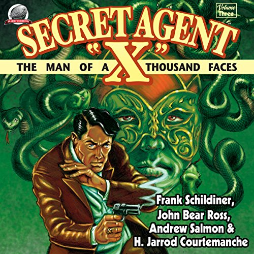 "Secret Agent ""X"", Volume 3 audiobook cover art"