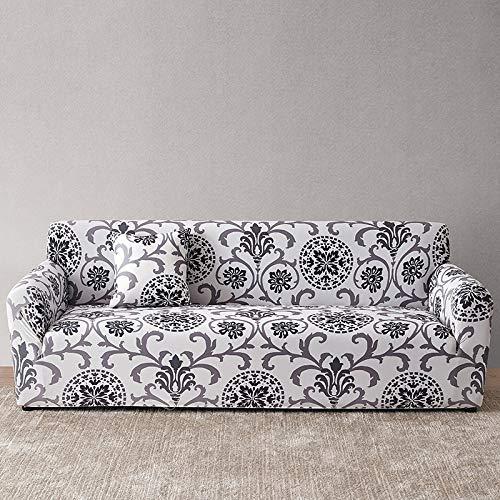 Funda de sofá Europea con Estampado Floral Fundas de sofá para Sala de Estar Sofá Toalla Funda de Muebles Sillón Funda de sofá A14 4 plazas