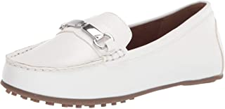 Aerosoles womens Loafer, Mocc Driving Style Loafer, White, 5 US