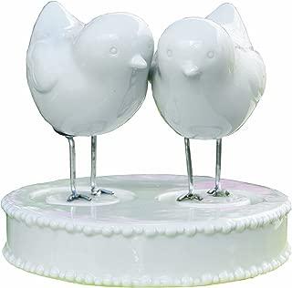 Ivy Lane Design Wedding Accessories Love Bird Figurines and Base Caketop