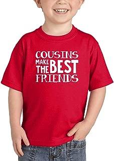 Cousins Make The Best Friends - Matching Infant/Toddler Cotton Jersey T-Shirt