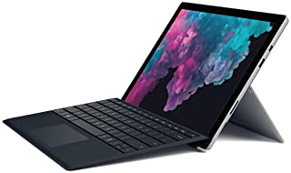 Microsoft Surface Pro 6 (Intel Core i5, 8GB RAM, 128GB) - Newest Version and Microsoft Surface Pro Type Cover – Black, Platinum - NKR-00001