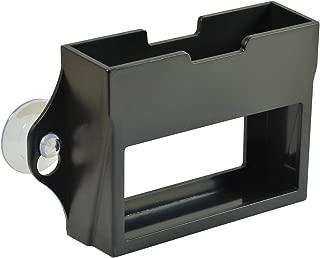 USCAN T-Rex EZ Pass Holder Easy to Install EZPass Tag Holder, Black