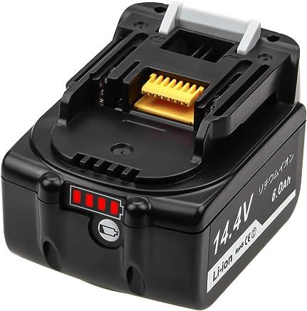 マキタ14.4v バッテリー マキタ BL1460B 互換バッテリー 6.0Ah LED残量表示 14.4v BL1460 BL1430 BL1440 BL1450 BL1460 対応 一年間保証