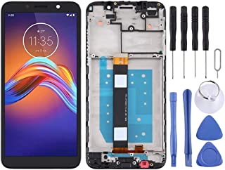 Mobile Phones Communication Accessories LCD Screen and Digitizer Full Assembly with Frame for Motorola Moto E6 Play (Color...