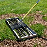 """Rocklin Industry Levelawn Tool   Level Soil or Dirt Ground Surfaces Easily   30"""" x 10"""" Ground..."""