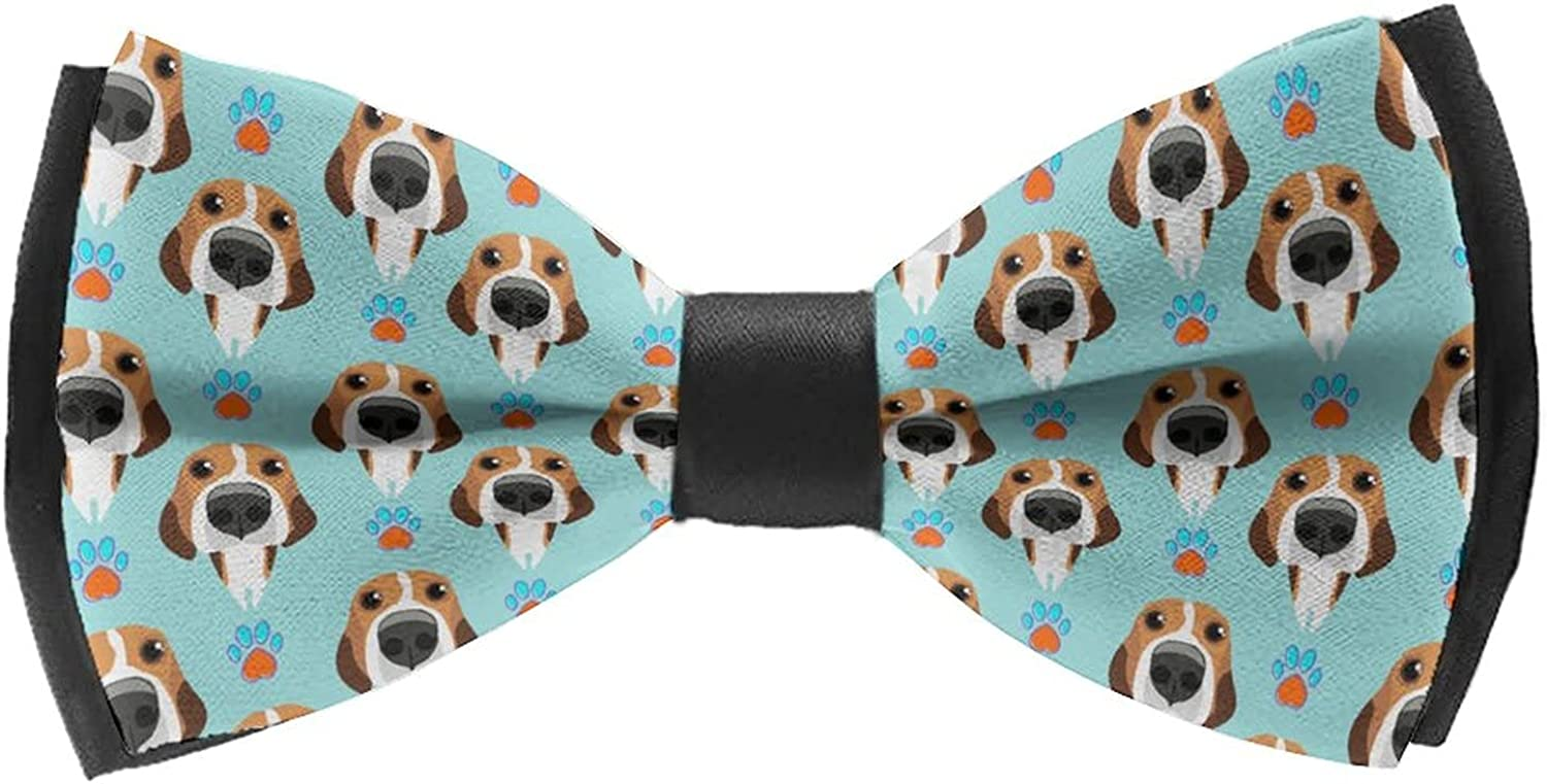 Self Bow Ties for Formal Party Classic Cravat Neck Tie For Adults & Children