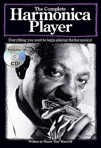 The Complete Harmonica Player. Partituras, CD, Instrumento