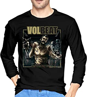 JeremiahR Men's Volbeat Seal The Deal & Let's Boogie Long Sleeve T-Shirts Black