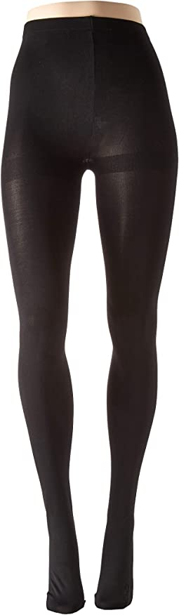 Rhinestone Studded Backseam Tights