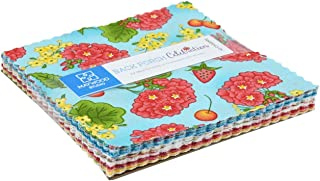 Back Porch Celebration Charm Pack 42 5-inch Squares by Meg Hawkey for Maywood Studio