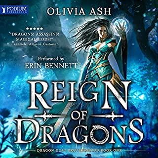 Reign of Dragons audiobook cover art