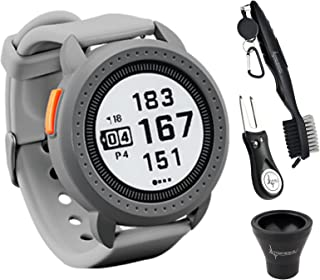 $164 » Bushnell iON Edge Golf GPS Watch Gray with 38,000 Courses and auto-Course Recognition, GreenView with Wearable4U Ultimate ...