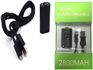 BullStore Carga y Juega para Control De Xbox One, One s Cable USB 2.7 MTS Kit Generico