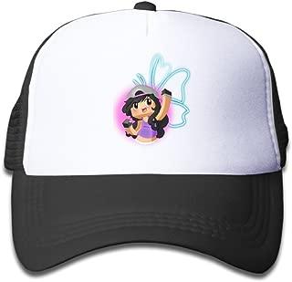 Youth Kids Streetwear Aphmau Gaming Baseball Cap Hat Snapback SkyBlue