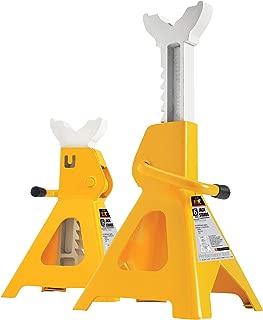 Performance Tool W41023 6 Ton (12,000 lbs.) Capacity Heavy Duty Jack Stand set