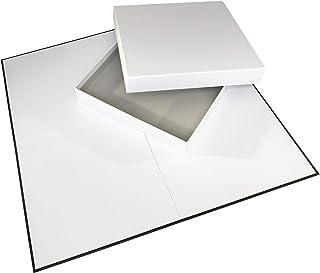 Apostrophe Games Juego de Tablero y Caja en Blanco (508 mm x 508 mm)