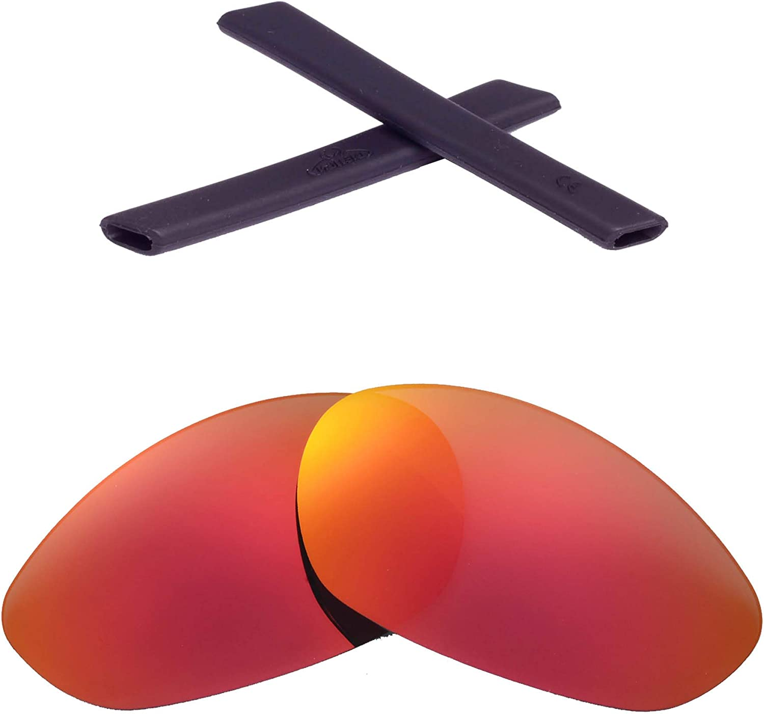 Walleva Polaried Replacement Lenses Popular products and for Oakley Minu Ranking TOP18 Earsocks