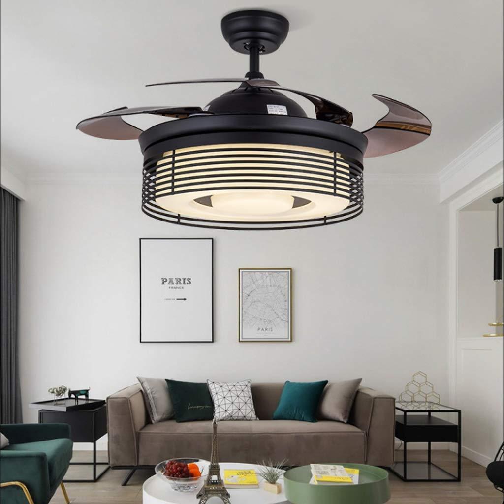 Ventiladores para el techo con lámpara Retro 42 pulgadas ...