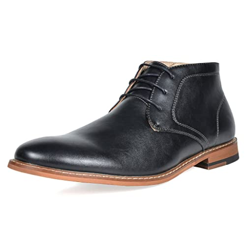 Leather Dress Boots: