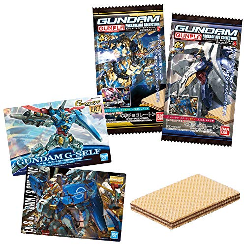GUNDAMガンプラパッケージアートコレクション チョコウエハース5 (20個入) 食玩・チョコレート (ガンダムシリーズ)