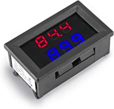 Dual Digital Fahrenheit LED Display Thermometer K-Type Thermocouple High Temperature Tester