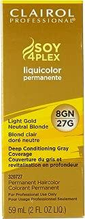 Clairol Professional Liquicolor 8GN/27G Light Golden Neutral Blonde, 2 oz
