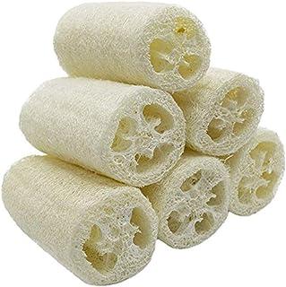 VOARGE 6 sztuk wysokiej jakości naturalna gąbka z trukwy z trukwy do spa, peeling Scrubber z trukwy, usuwa obumarłą skórę,...
