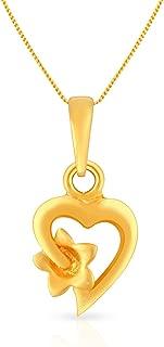 Malabar Gold and Diamonds 22k (916) Yellow Gold Pendant