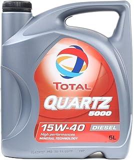 Total Quartz 500015W-40Huile Moteur Diesel Multigrade, 5l