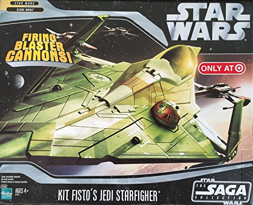 Star Wars Saga '06 Exclusive Vehicle Kit Fisto's Jedi Starfighter