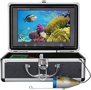 GRXXX Pescado bajo el Agua Finder HD Subatwater Cámara de Color de 9 Pulgadas TFT Pantalla 1000 TVL Cámara IP68 Kit Imperm...