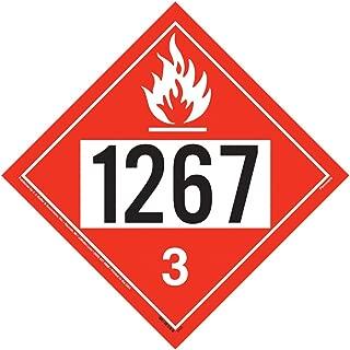 1267 Placard, Class 3 Flammable Liquid - 10.75
