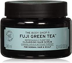 The Body Shop Fuji Green Tea Refreshingly Purifying Cleansing Hair Scrub, 8.2 Fluid Ounce