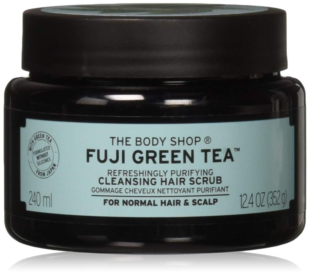 Amazon.com : The Body Shop Fuji Green Tea Refreshingly Purifying Cleansing Hair  Scrub, 8.2 Fluid Ounce : Beauty & Personal Care