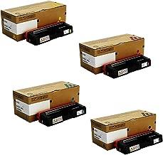 Ricoh 407653, 407654, 407655, 407656 Standard Yield Toner Cartridge Set