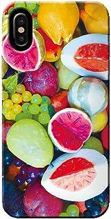 OPPO Find X2 Pro OPG01 ケース 果物 サラダ エッグ フルーツ POP 薄型 スマホ ハードケース カラフル D オッポ C000401_04
