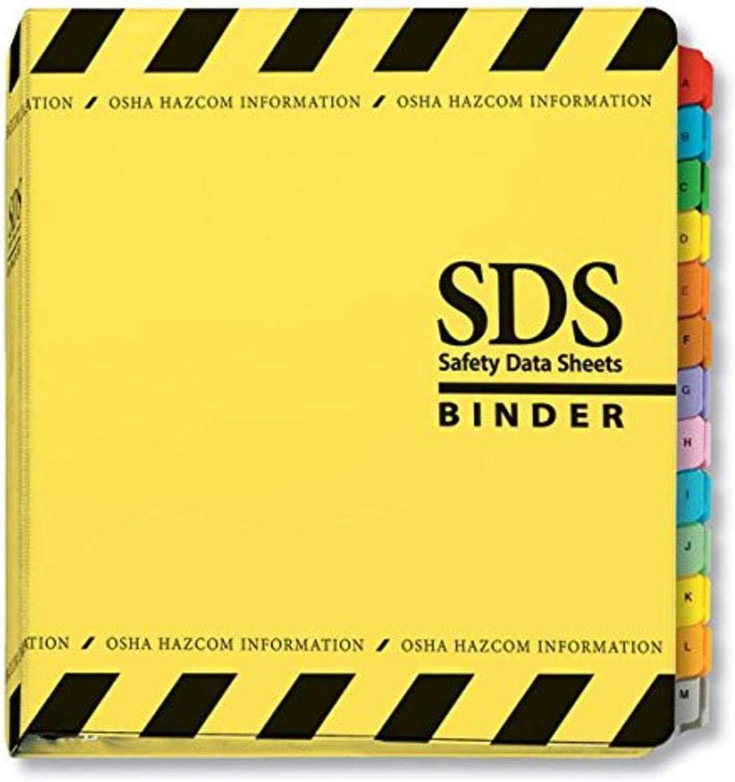 """ComplyRight SDS SEAL limited product Binder and 11.50"""" Dividers 11.75"""" Max 90% OFF x"""