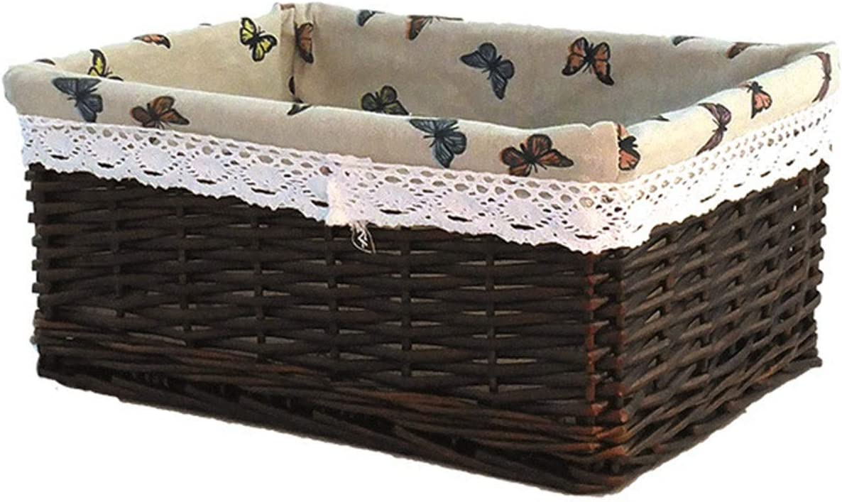 Popular product lxm Wicker Storage Basket Hand-Made Rattan Outlet SALE Clothes Woven Dirty