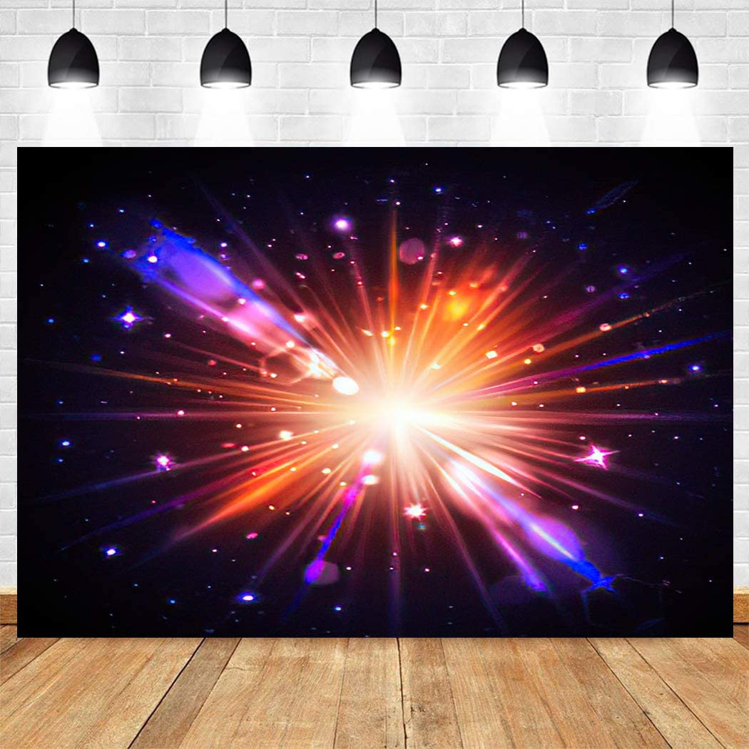 Max 64% OFF SETUYCR Backgrounds Red Starburst Solar Bokeh and Light Cheap mail order shopping Blurred