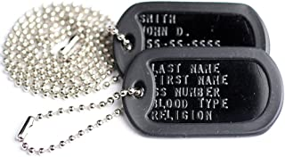 custom military dog tags free shipping