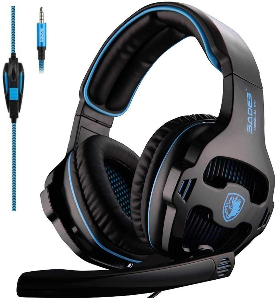 SADES Headphones Microphone Nintendo Playstation