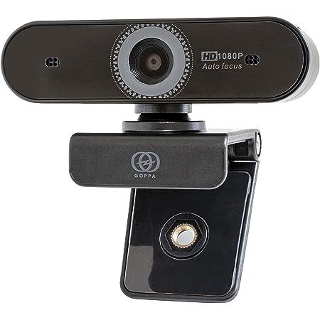 GOPPA ウェブカメラ オートフォーカス機能搭載 フルHD 200万画素 1920×1080対応 マイク内蔵 Fire TV cube(第2世代)動作確認済み GP-UCAM2FA/E