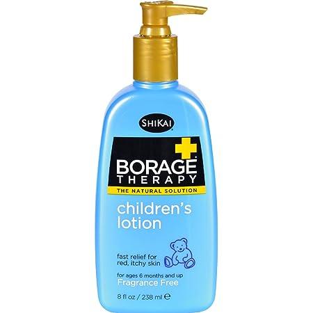 Shikai Borage Dry Skin Therapy Natural Formula Lotion for Childrens - 8 Oz