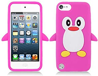 Zchiko Penguin 3D Cartoon Apple iPod touch 7 (الجيل السابع) / iPod touch 6 (الجيل السادس) / Touch 5 (الجيل الخامس) حافظة ا...