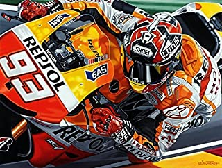 MotoGP Marc Marquez Honda Some Rookie Giclee